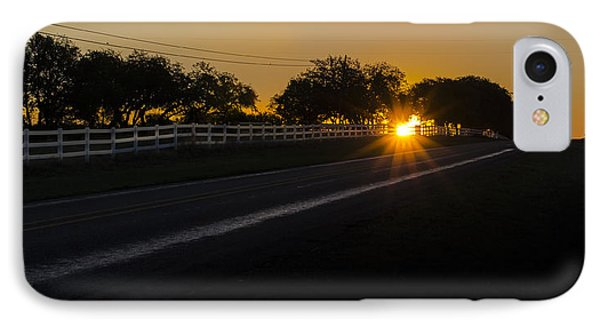 Hill Country Sunrise 2 IPhone Case