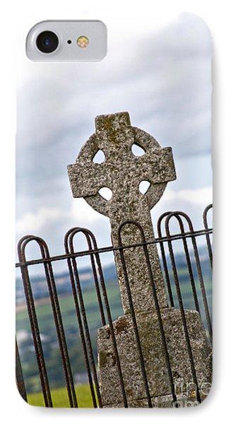 Hill Of Tara Celtic Cross IPhone Case