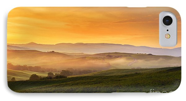 Hills And Fog IPhone Case