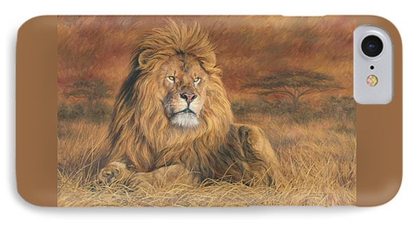 Africa iPhone 8 Case - His Majesty by Lucie Bilodeau