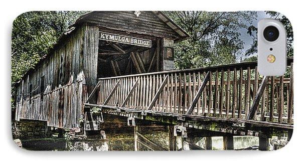 Historic Kymulga Covered Bridge IPhone Case