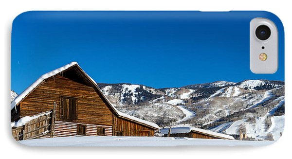 Historic Steamboat Spring Barn IPhone Case