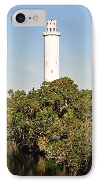 Historic Water Tower - Sulphur Springs Florida IPhone Case