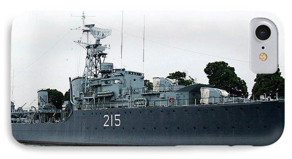 Hmcs Haida Twin Gun Tribal Class Destroyer  IPhone Case