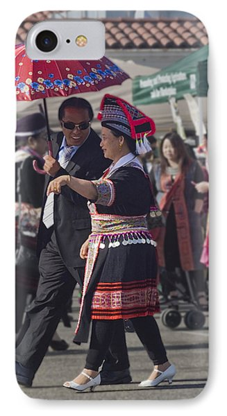 Hmong Couple IPhone Case