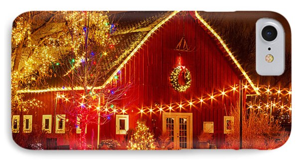 Holiday Barn IPhone Case