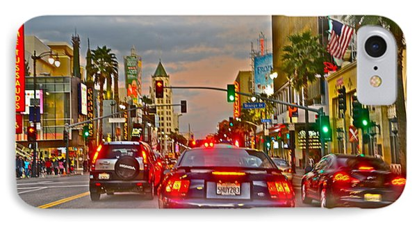 Hollywood Blvd. IPhone Case