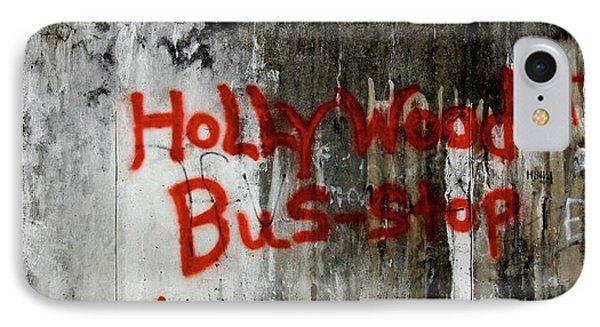 Belize iPhone 8 Case - Hollywood by Erik Hammar
