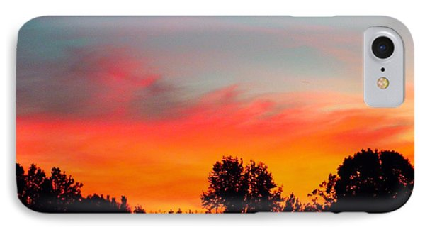 Home At Dusk IPhone Case