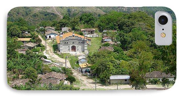 Honduras Mountain Village IPhone Case