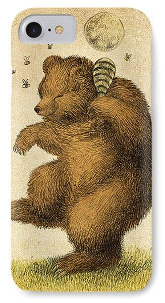 Whimsical iPhone 8 Case - Honey Bear by Eric Fan