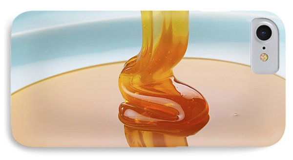 Honey Falling On Plate IPhone Case