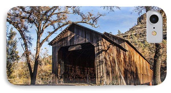 Honey Run Covered Bridge 1894 IPhone Case