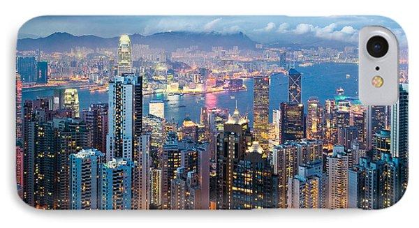 Hong Kong At Dusk IPhone Case