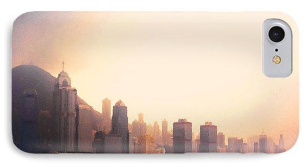 Hong Kong Harbour Sunset IPhone Case