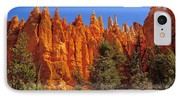 Hoodoos Along The Trail IPhone Case