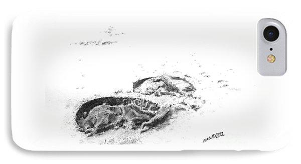 Hoof Prints IPhone Case