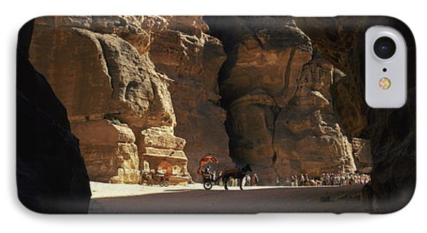 Horse And Cart In The Siq, Wadi Musa IPhone Case