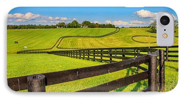 Horse Farm Fences IPhone Case