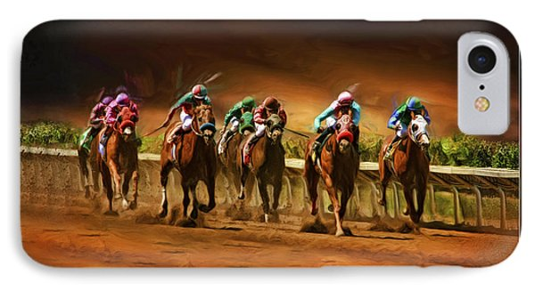 Horse's 7 At The End IPhone Case