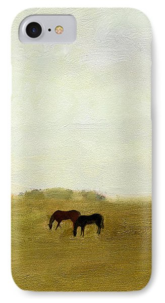 Horses Afield IPhone Case