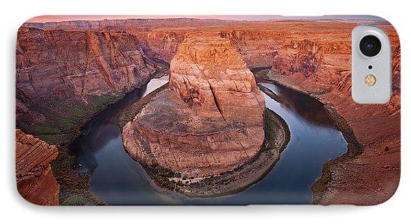 Desert iPhone 8 Case - Horseshoe Dawn by Mike  Dawson