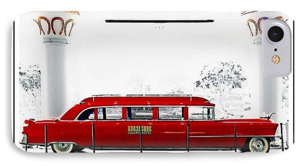 Horseshoe Fleetwood Cadillac Limousine IPhone Case