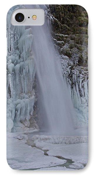 Horsetail Falls 120813 Cu B IPhone Case