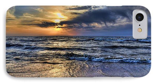 Hot April Sunset Saugatuck Michigan IPhone Case