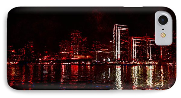 Hot City Night IPhone Case