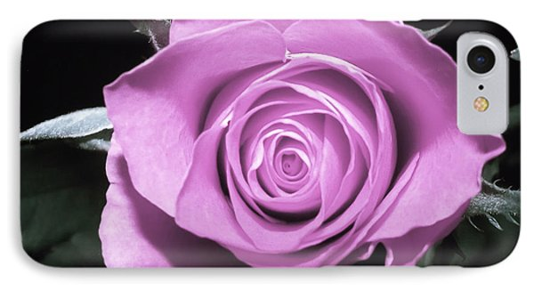 Hot Pink Rose IPhone Case