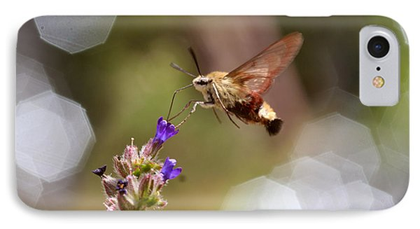 Hovering Pollination IPhone Case