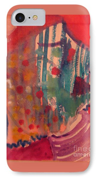 How Much I Loved You Original Contemporary Modern Abstract Art Painting IPhone Case