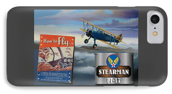 How To Fly Stearman Pt-17 IPhone Case