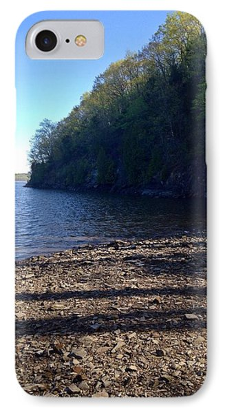 Hudson River Shoreline IPhone Case