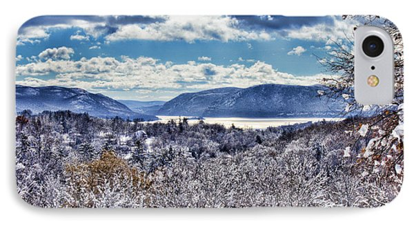 Hudson Valley First Snow Mystic Colors IPhone Case