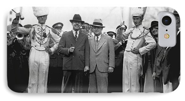 Huey Long And Governor Conner IPhone Case