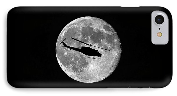 Helicopter iPhone 8 Case - Huey Moon by Al Powell Photography USA