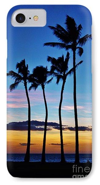 Hula Palms At Sunset IPhone Case