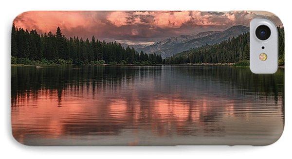 Hume Lake Sunset IPhone Case