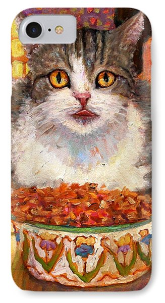 Hungry Cat IPhone Case