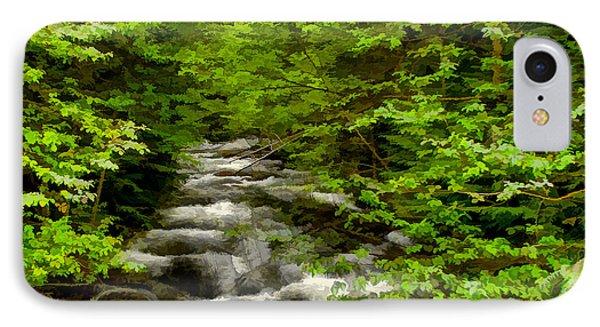 Hunt Creek At Priest Lake IPhone Case