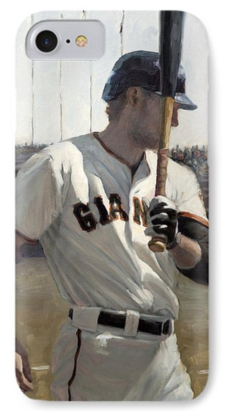 Hunter Pence On Deck IPhone Case
