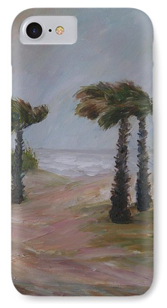 Hurricane Palms IPhone Case