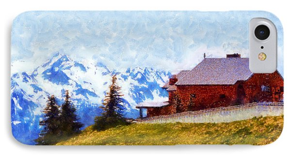 Hurricane Ridge Visitor Center IPhone Case