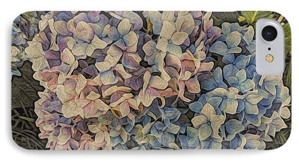 Hydrangea Blossoms IPhone Case