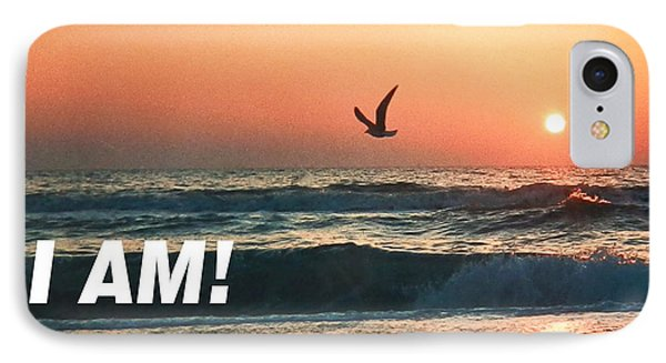 The Great I Am  IPhone Case
