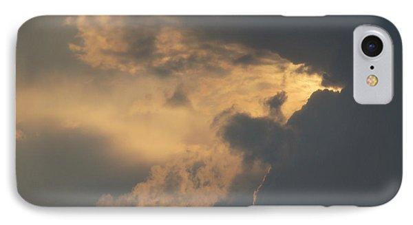 I Love A Cloudy Day IPhone Case