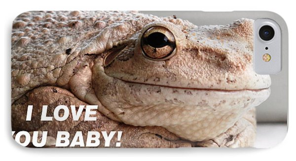 Frog Declaration Of Love IPhone Case