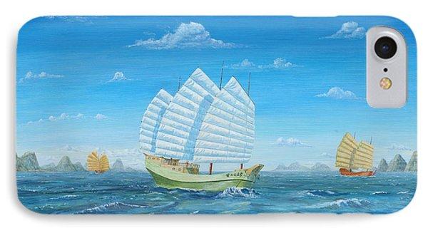 I Saw Three Ships IPhone Case